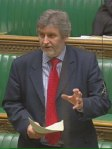 Clive Efford in Parliament
