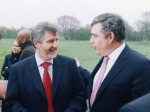 Gordon Brown and Clive Charlton 2