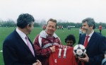 Gordon Brown and Clive Charlton 1