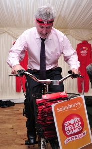 Clive Efford Sport Relief