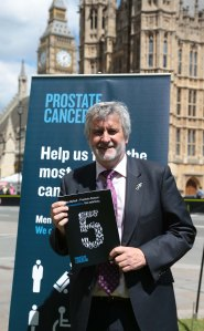 clive efford supporting prostate cancer research